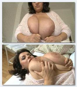 Carol Brown   36K Big Tits All Tied Up  BustyBrit 03