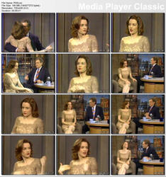 Penelope Ann Miller @ Letterman, April 1995