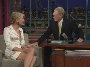 Rebecca Romijn - Late Show with David Letterman (2006)