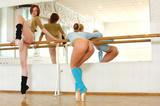 танцы гимнасток без трусов таких