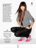 Hannah Simone - Lucky Magazine - December 2012