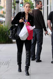 Elizabeth Berkley shopping at Helen Ficalora - Jan 4, 2010