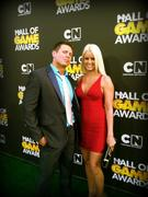 Maryse Ouellet in a Herve Leger Dress @ Cartoon Network's Hall of Game Awards x 2